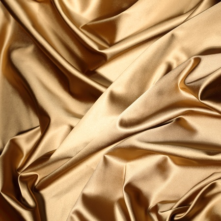 gold textile background close up photo