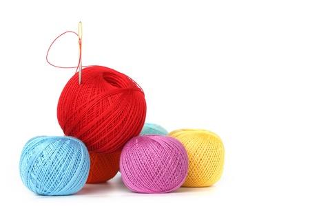 woolen fabric: subproceso aislada sobre fondo blanco Foto de archivo