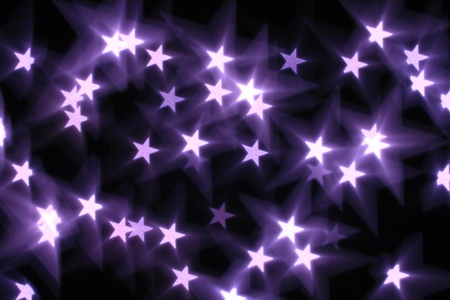 bokeh stars  background abstract macro Stock Photo - 10098838