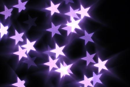 lucero: Bokeh estrellas de fondo abstracto macro Foto de archivo