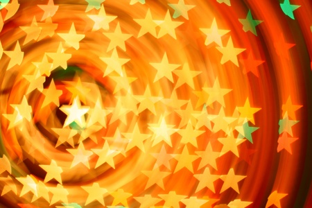 bokeh stars  background abstract macro Stock Photo - 10098712