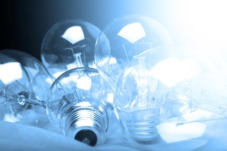 flash light: concept design box of ideas Stock Photo
