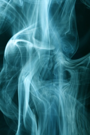 blue smoke natural abstract backgrounds photo