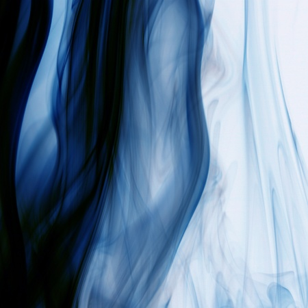 blue smoke natural abstract backgrounds Stock Photo - 10136055