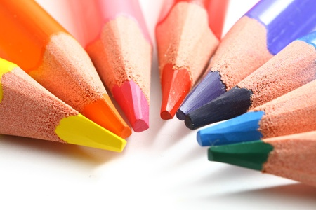 macro de fondo de arte de educación de lápiz