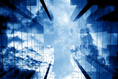 3d skyscrapers success office towers Stock Photo - 10171890