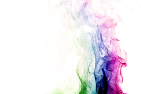 colored smoke abstract elegant background photo