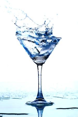 alcohol splash macro close up Stock Photo - 10169909