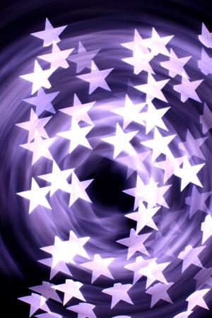 bokeh stars  background abstract macro Stock Photo - 10170917