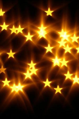 round brilliant: bokeh stars  background abstract macro