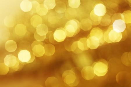 dorato: sfondo dorato bokeh close up
