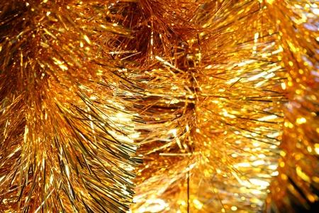 golden stars holiday background macro close up photo