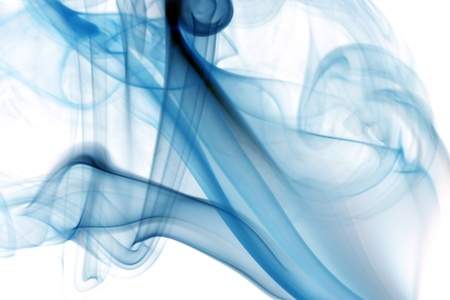 blue smoke abstract background close up Stock Photo - 10316984