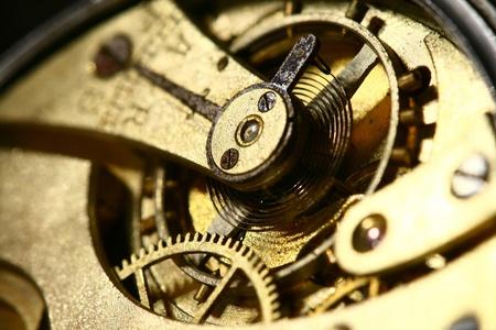 maquinaria: Dentro de mi antiguo reloj antiguo raro