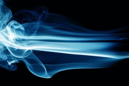 blue smoke: blue smoke abstract background close up