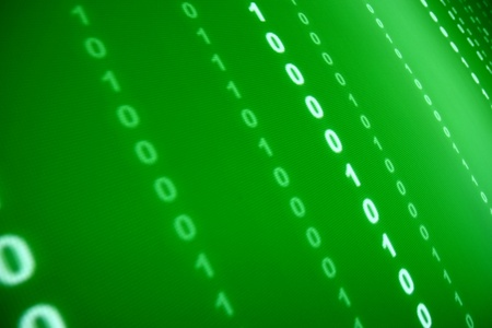 green data space abstract background photo
