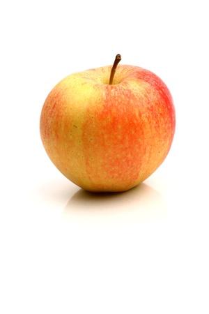 one apple isolated on white background Stock Photo - 10376001