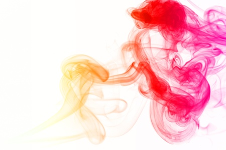 notional: abstract mystical multi colored smoke  Stock Photo