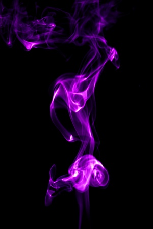 haze: purple smoke abstract background close up