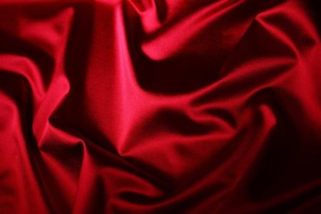 velvet background: red satin background close up