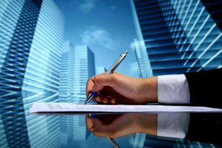 realtor professional presentation business background Stock Photo - 10469687