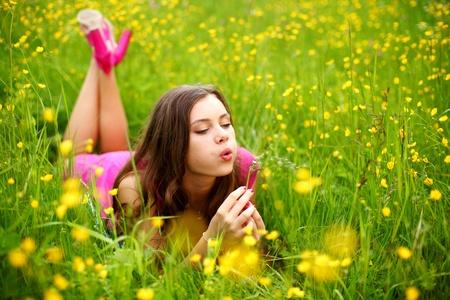 blow: estate colpo donna tarassaco