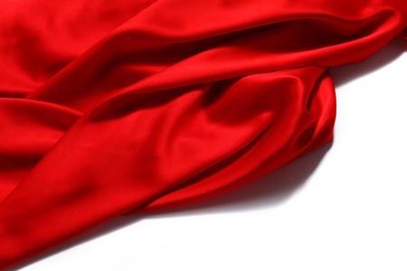 tela seda: fondo rojo de satén de cerca