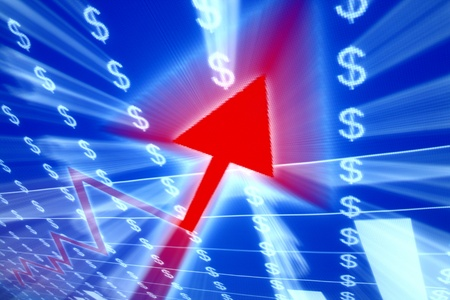 exchange profit: red graph in abstract data space