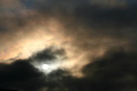 dark divine sky storm heaven photo