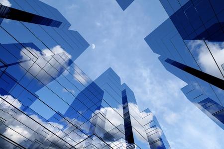 skyscraper sky: 3d skyscrapers success office towers