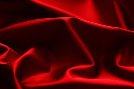 red silk: red satin background close up