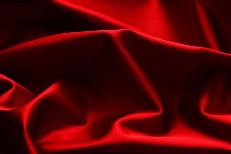 raso: sfondo di raso rosso close up