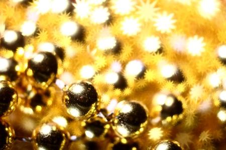 golden stars holiday background close up photo