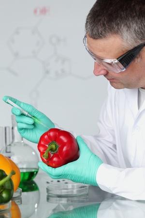 food science: man try to change paprica DNA