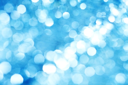 abstract background blue bokeh circles photo