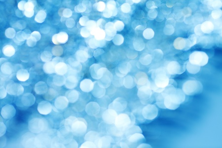 abstract background blue bokeh circles photo