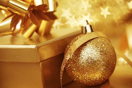 christmas background close up on star background photo