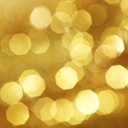 colores calidos: de oro de fondo bokeh cerca Foto de archivo