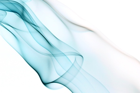 blue smoke abstract background close up Stock Photo - 11122539