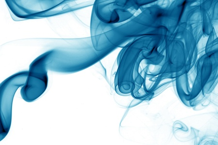blue smoke abstract background close up Stock Photo - 11145232