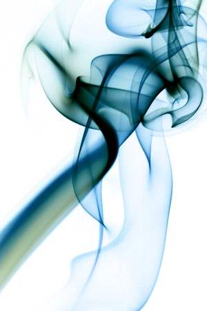blue smoke abstract background close up Stock Photo - 11138716