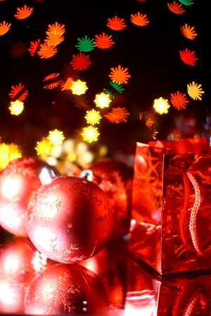 holiday gifts background warm stars Stock Photo - 11138443