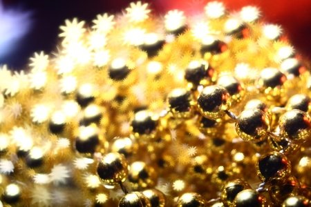 golden stars holiday background close up photo