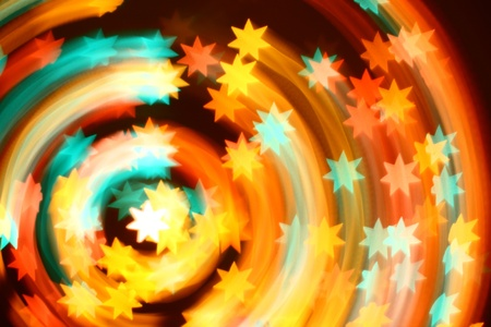 motion stars abstract background photo