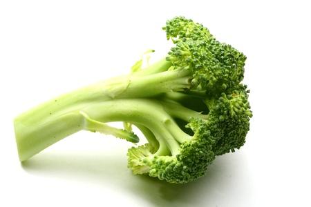 broccolli: broccoli isolated on white background