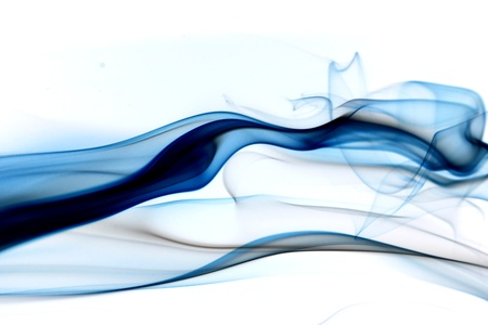blue smoke abstract background close up Stock Photo - 11261853