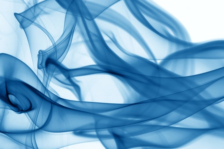 blue smoke abstract background close up Stock Photo - 11262154