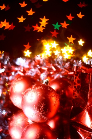 holiday gifts background warm stars Stock Photo - 11262506