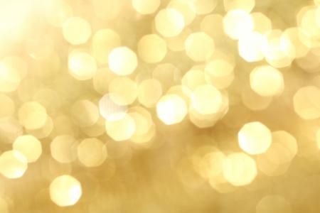sfondo luci: sfondo dorato bokeh vicino Archivio Fotografico
