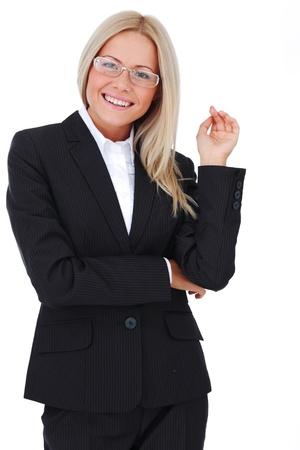 business woman close up photo